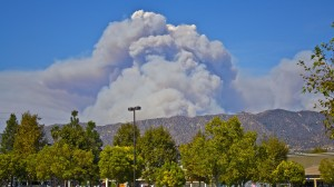LA Fire Smoke